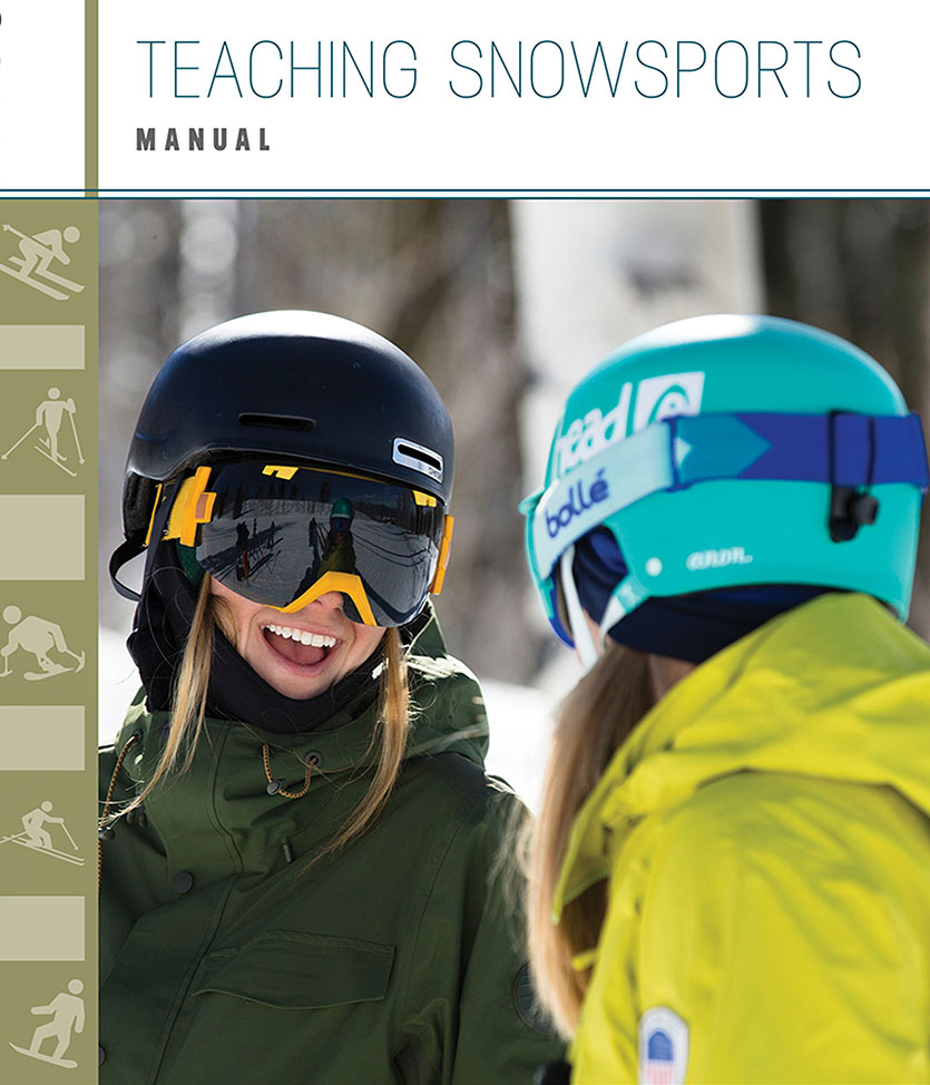 Cover of Teaching Snowsports Manual