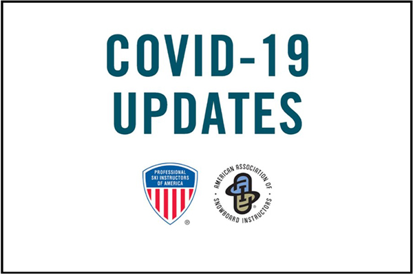 COVID-19 updates from PSIA-AASI