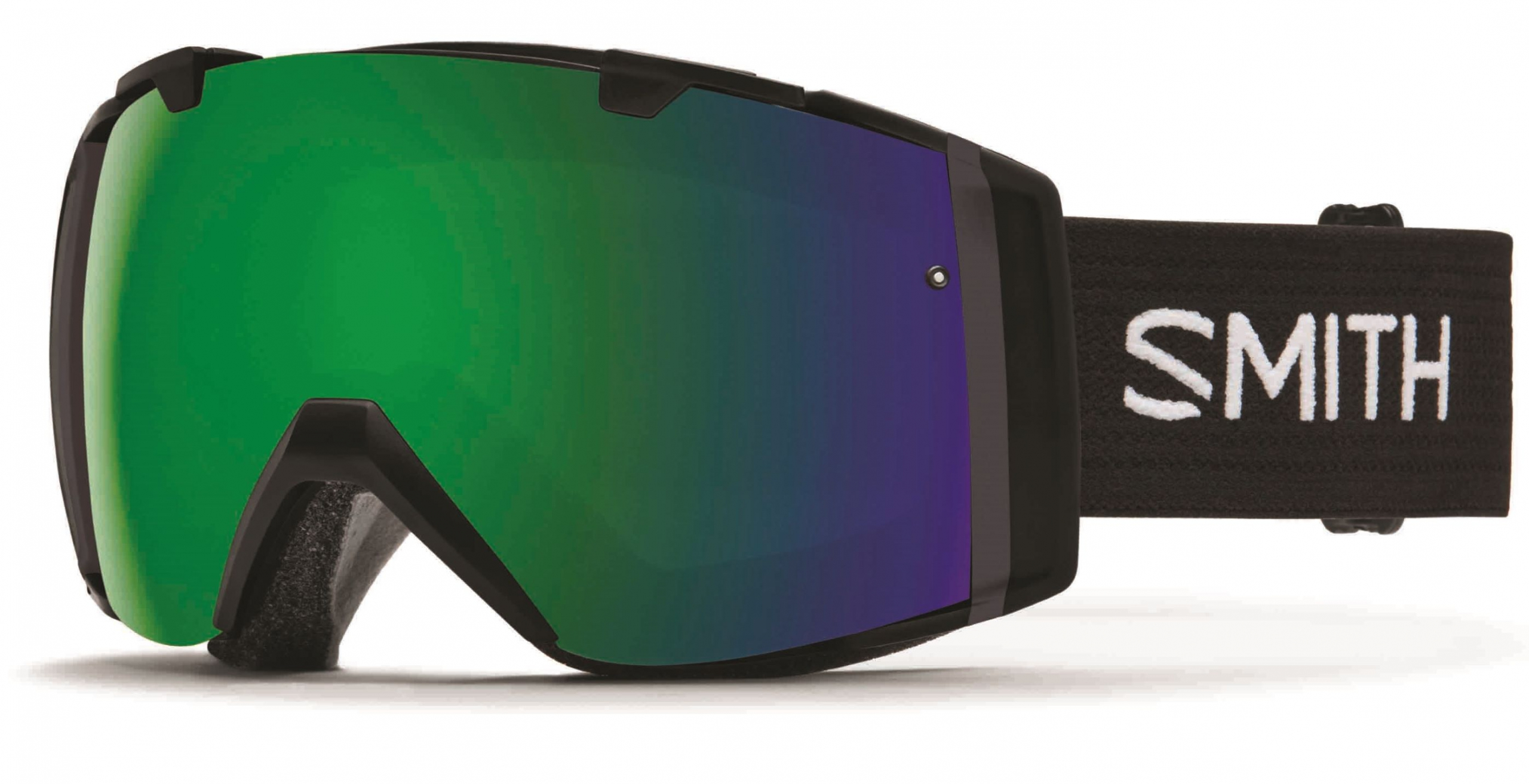 A pair of Smith Chroma Pop Goggles in black