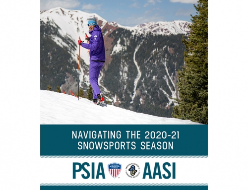"PSIA-AASI Releases ""Navigating the 2020-21 Snowsports Season"" Guide"