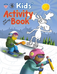 Kids Activity Book Cover