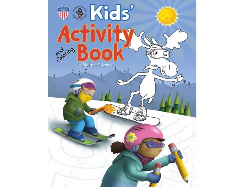 New Kids' Activity Book Shares the Fun and Safety of Snowsports