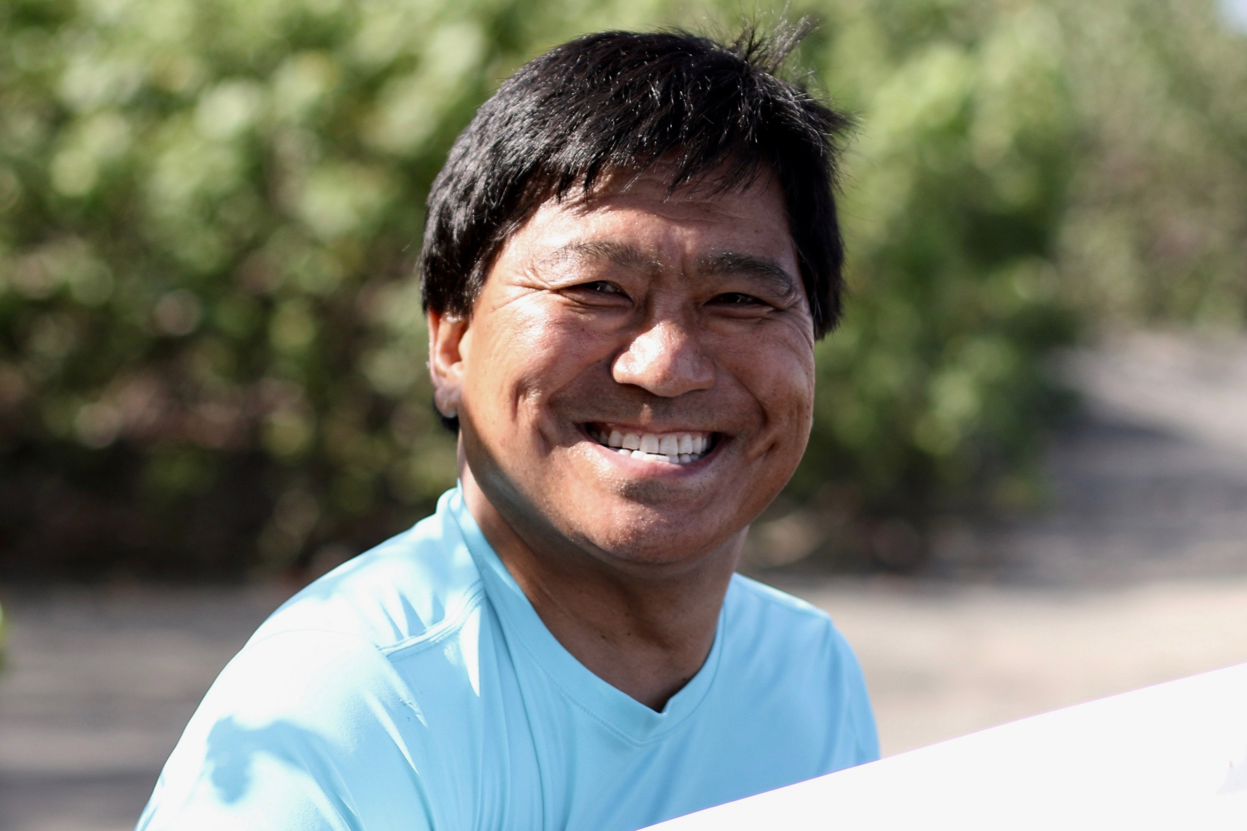 Ski Instructor Mark Nakada